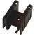 Aavid Thermalloy - 551002B00000G - Heat Sink; TO-220; 12.40degC/W; 0.787In.H; 1.450In.W; Black; RoHS Compliant