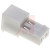 TE Connectivity - 3-640441-2 - White 24 AWG IDC Closed End 2 Position MTA-100 Receptacle|70042726 | ChuangWei Electronics