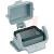 HARTING - 09300060302 - SINGLE LEVER PANEL MOUNT HAN 6E HOUSING|70104641 | ChuangWei Electronics