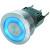 Schurter - 1241.6611.1120000 - Stnlss Steel Hsng/Actu 5/3A 125/250VAC SPDT 16mm Mmntry Med Strk Metal PB Switch|70020827 | ChuangWei Electronics