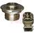 Amphenol Pcd - RJFTV71N - nickel finish rj45 ethernet jam nut receptacle metal circular connector|70026502 | ChuangWei Electronics