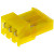 TE Connectivity - 3-640427-3 - 0.156 in. Nylon 90 deg Locking Ramp IDC Standard 3 Receptacle Connector|70042770 | ChuangWei Electronics
