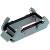 HARTING - 09300240301 - Han Com Series 165.4 mm L x 57 mm W x 28.5 mm H Double Lever Metal Housing|70104648 | ChuangWei Electronics