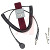 SCS - 2224 - Wrist Strap; Fabric Wrist; 10 ft; 9 in.(Max.); Burgandy, Adjustable