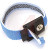 SCS - WBB-AFWS - Fabric Wrist Band, Adjustable, Blue/White